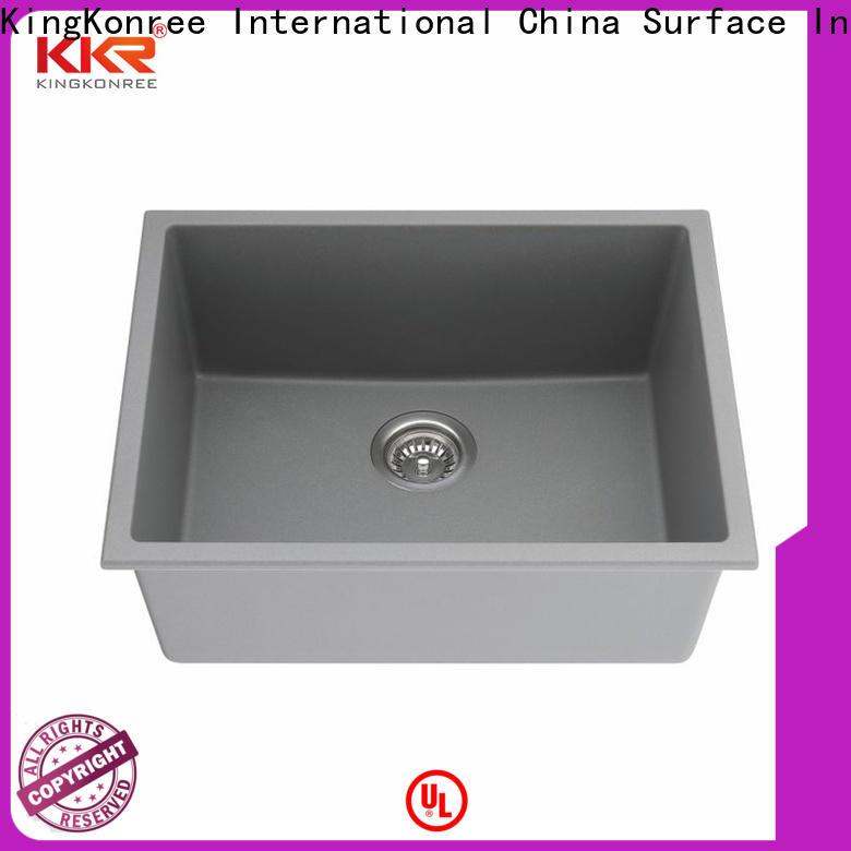 KingKonree rectangular undermount bathroom sink manufacturer for household