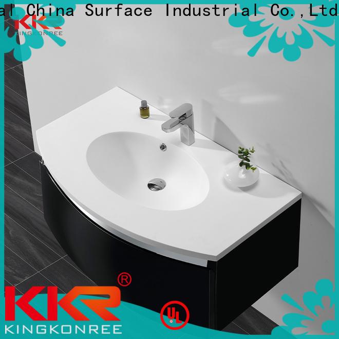 KingKonree high-quality corian wash basin top-brand for shower room