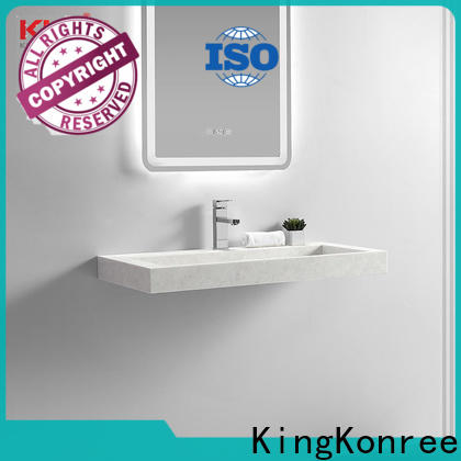 KingKonree small wall hung basin design for hotel