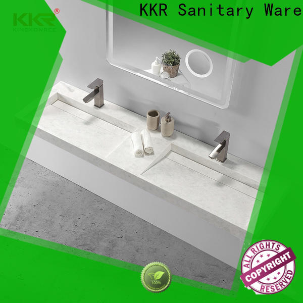 KingKonree classic wall mounted wash basin manufacturer for home