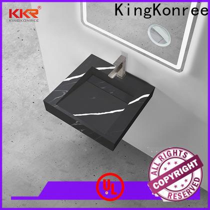 KingKonree solid washroom basin sink for bathroom