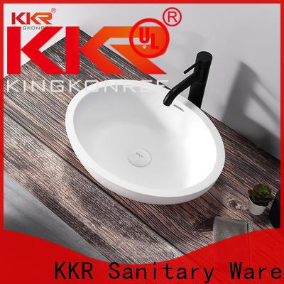 KingKonree standard bathroom countertops and sinks cheap sample for restaurant