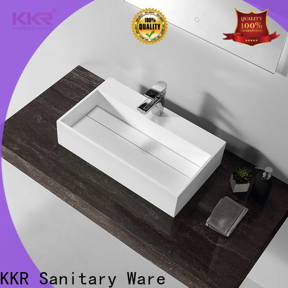approved top mount bathroom sink customized for room