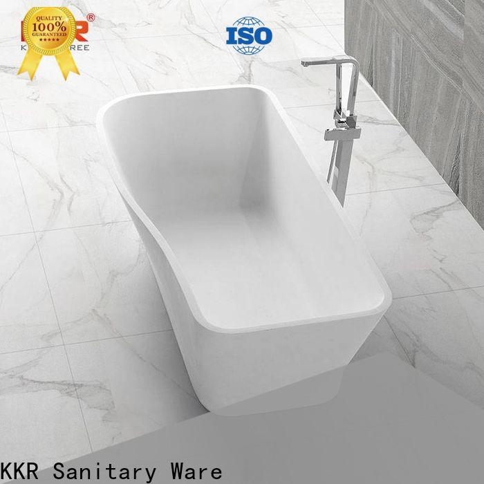 KingKonree stone resin bath free design for shower room