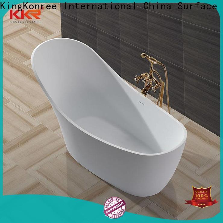 KingKonree small stand alone bathtub ODM for family decoration