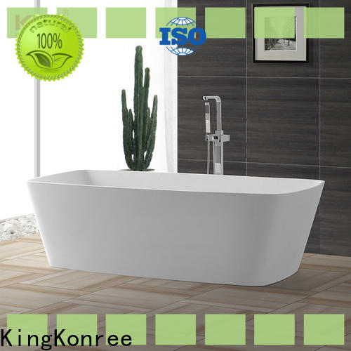 KingKonree contemporary freestanding bath free design for hotel