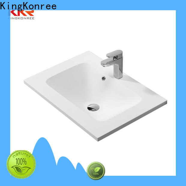 KingKonree rectangular wash basin design for toilet