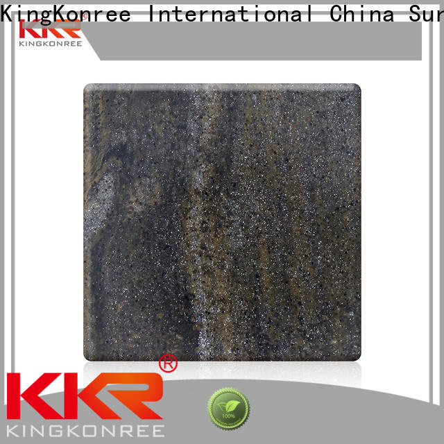 KingKonree veining solid surface sheets for sale from China for room