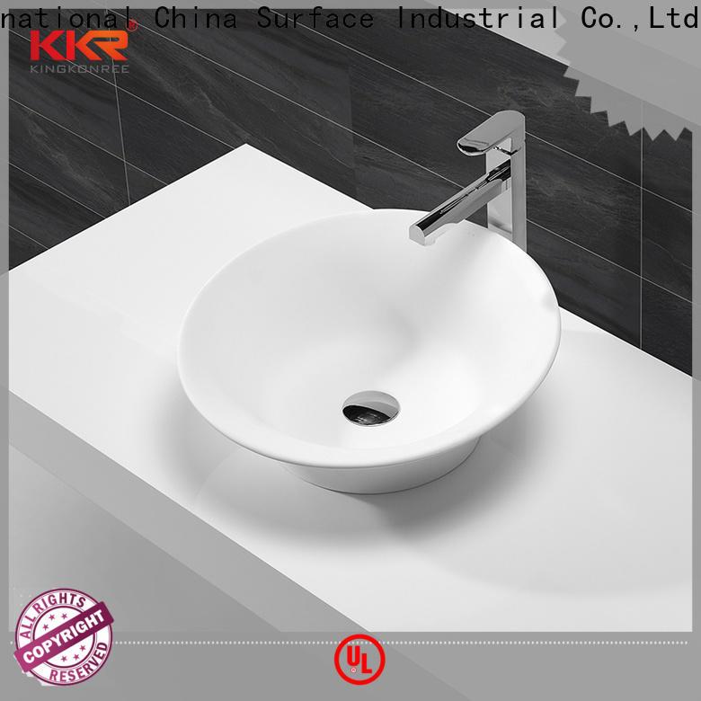 sanitary ware top mount bathroom sink manufacturer for room