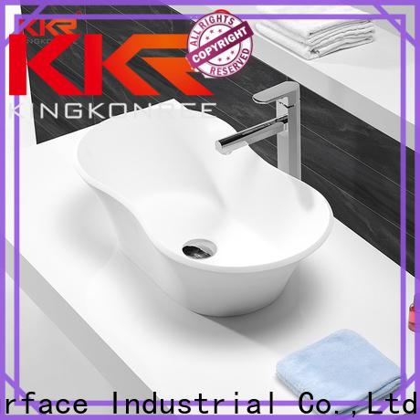 KingKonree bathroom countertops and sinks customized for room