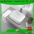 KingKonree standard above counter vessel sink design for home