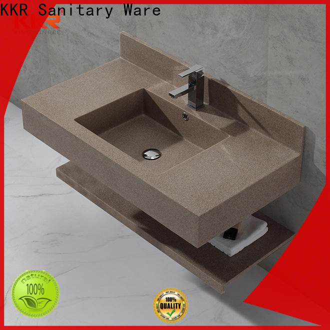 acrylic wall hung basin supplier for toilet