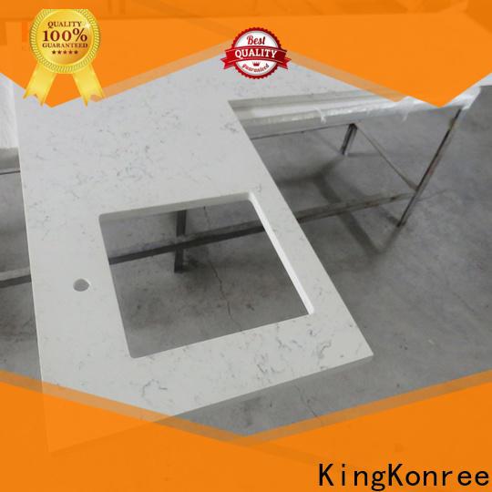 KingKonree solid surface kitchen worktops manufacturer for hotel