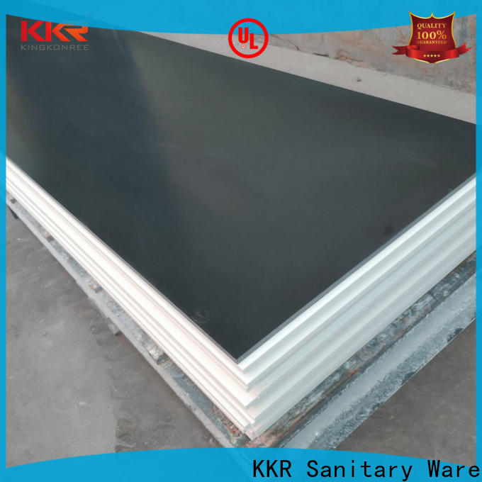 artificial stone acrylic solid surface supplier for restaurant