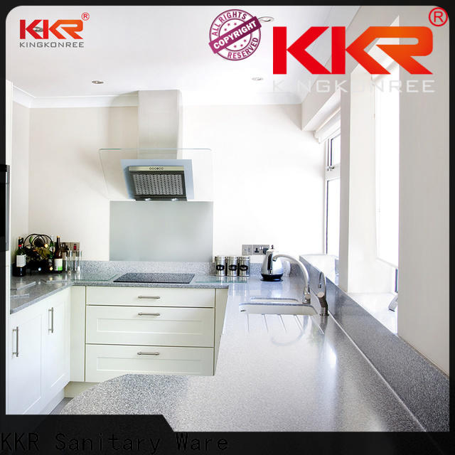 glossy solid surface kitchen worktops high-qualtiy for home