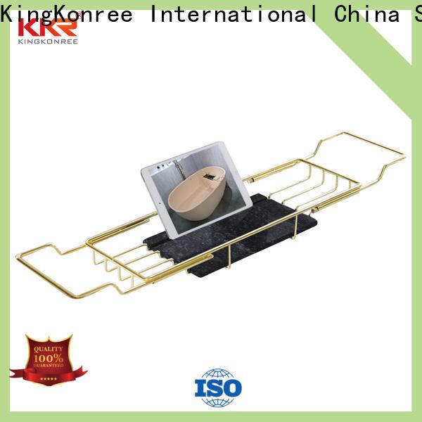 KingKonree bathtub shelves manufacturer for households