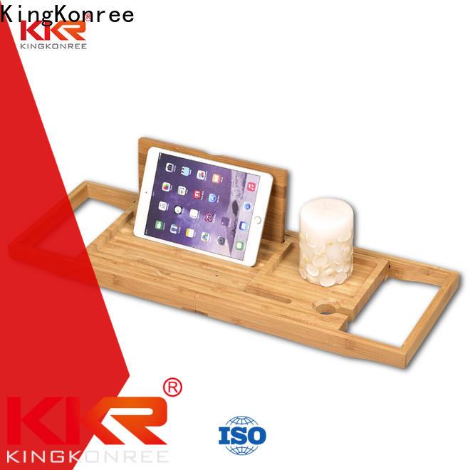 KingKonree retractable bathtub rack wholesale for restaurant