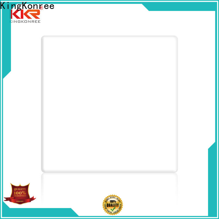 KingKonree acrylic kitchen worktops factory price for hotel