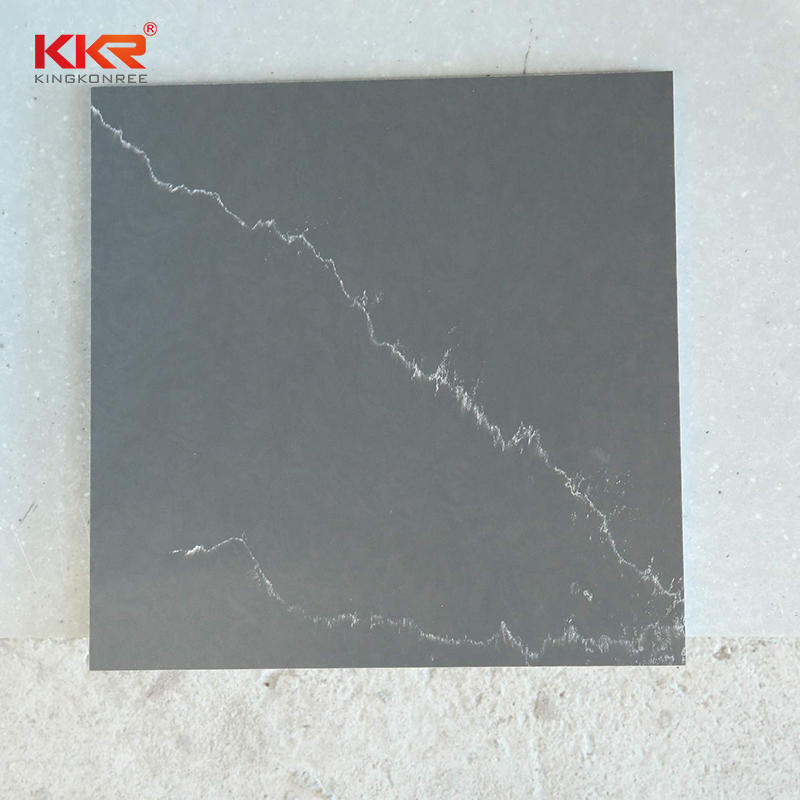 Newly Texture Marble Color Artificial Stone Solid Surface Sheet  KKR-M072