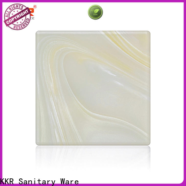KingKonree hot selling solid surface sheets supplier for bathroom