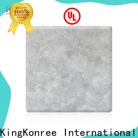 KingKonree artificial solid surface sheets for sale supplier for indoors