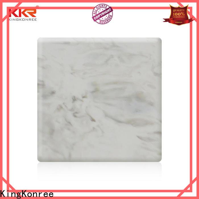 KingKonree acrylic solid surface sheet customized for home