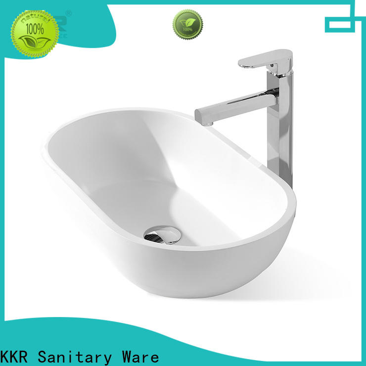 KingKonree white above counter sink bowl at discount for home