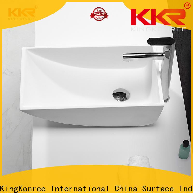 KingKonree above counter sink bowl manufacturer for home