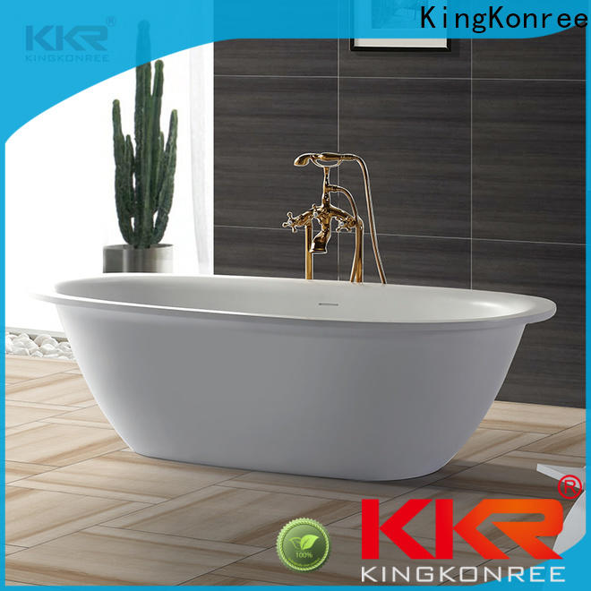 reliable acrylic clawfoot bathtub at discount for shower room