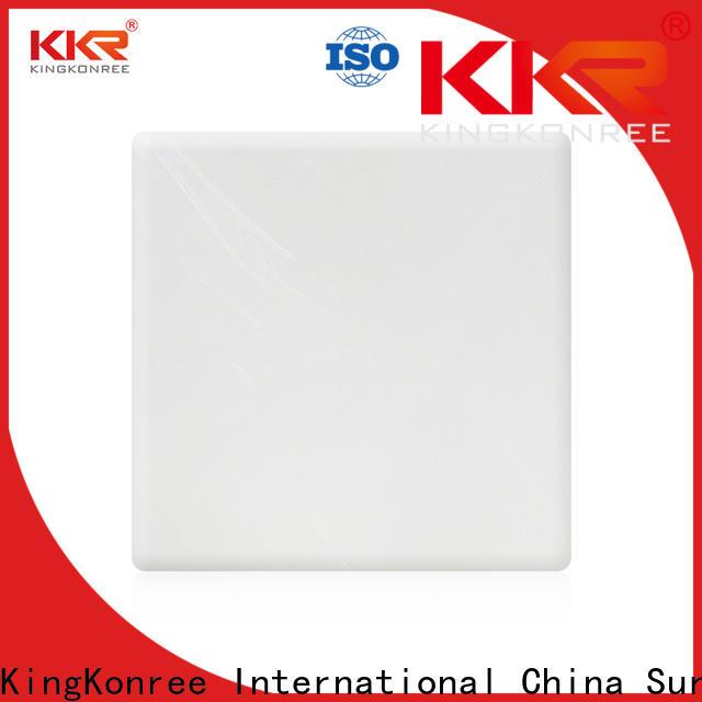 KingKonree veining acrylic solid surface sheet manufacturer for home