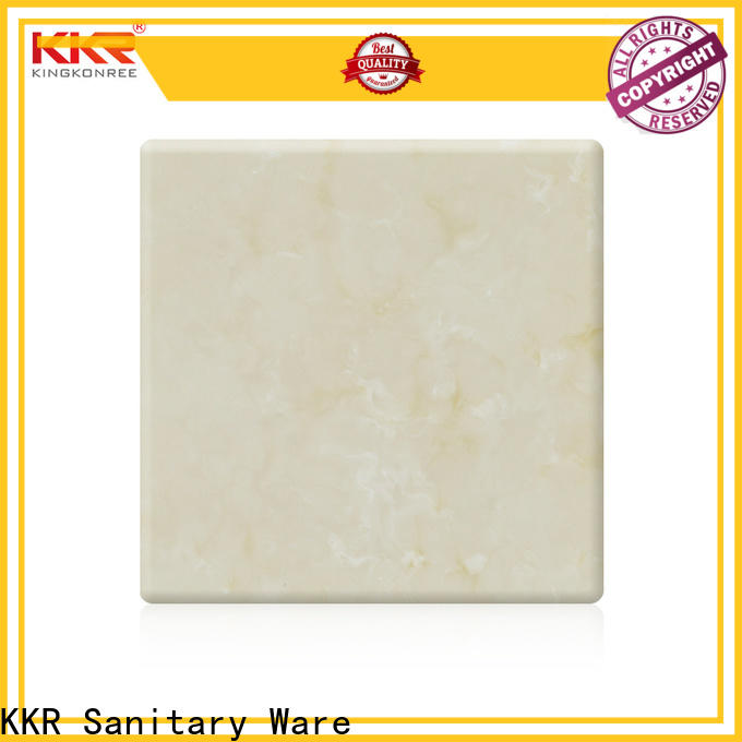 KingKonree solid surface sheets for sale directly sale for indoors