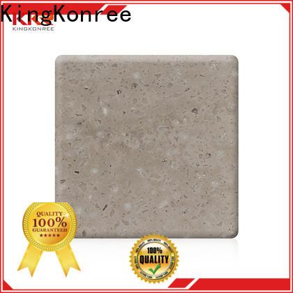KingKonree veining acrylic solid surface sheet manufacturer for hotel