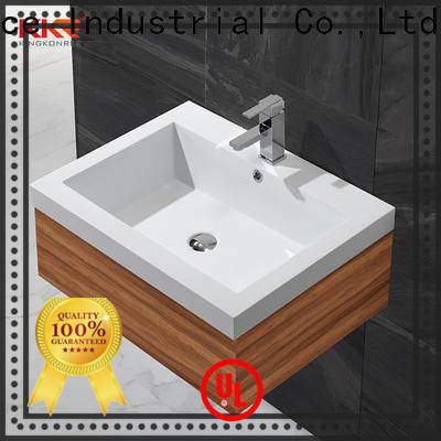 KingKonree rectangular wash basin customized for toilet