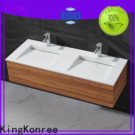 KingKonree rectangular wash basin design for motel