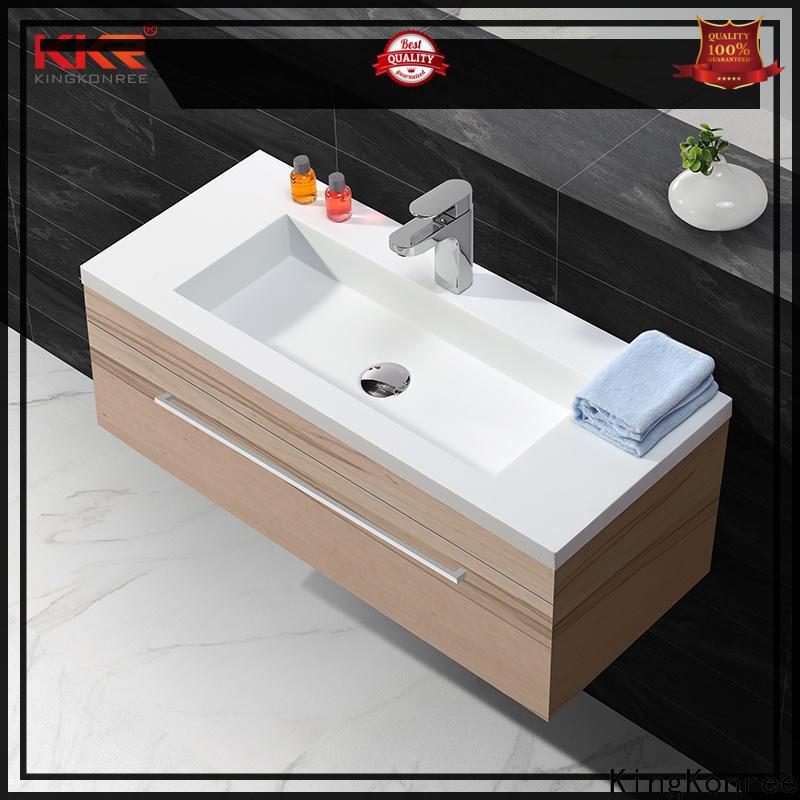 KingKonree elegant toilet wash basin customized for hotel