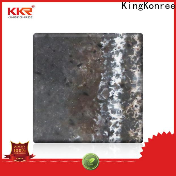 KingKonree acrylic solid surface directly sale for home