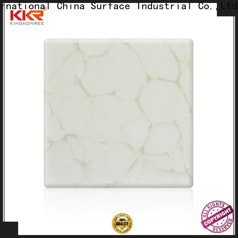 white translucent stone panels price supplier for motel