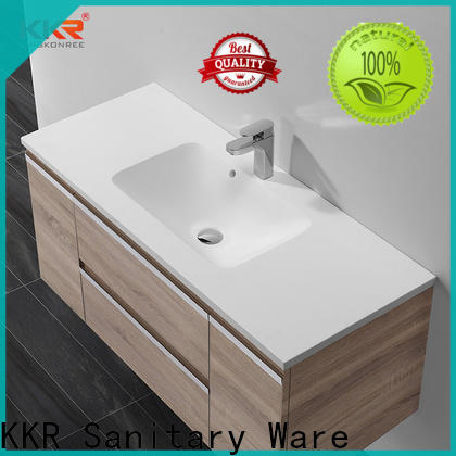 quality wash basin with cabinet online supplier for hotel