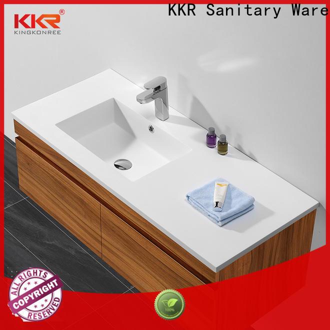 straight washroom basin supplier for bathroom