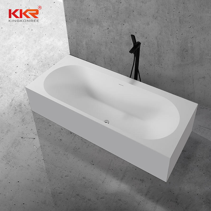 Custom Made Moultipurpose Built-in Emdedded Acrylic Solid Surface Bathtub KKR-B107