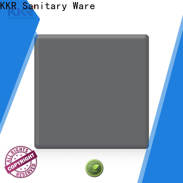 red modified acrylic solid surface manufacturer for home