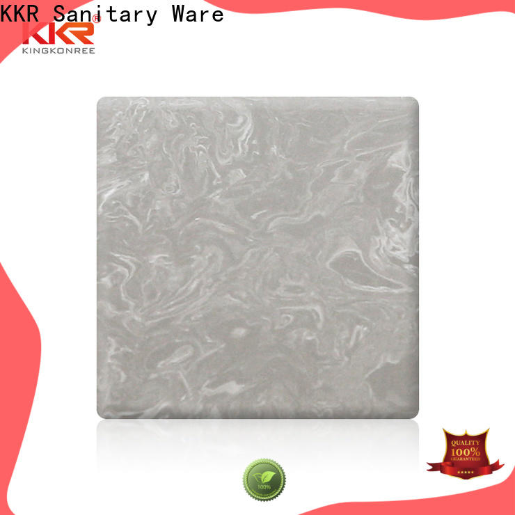 KingKonree solid surface sheets series for indoors
