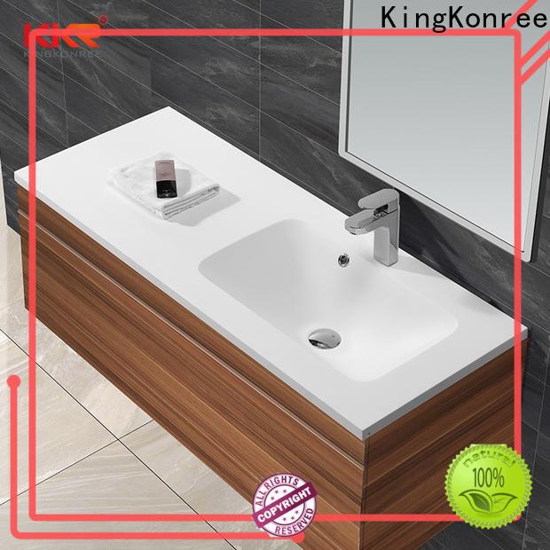 KingKonree rectangular wash basin customized for bathroom