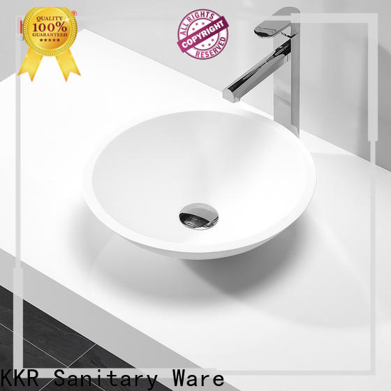 excellent top mount bathroom sink customized for room