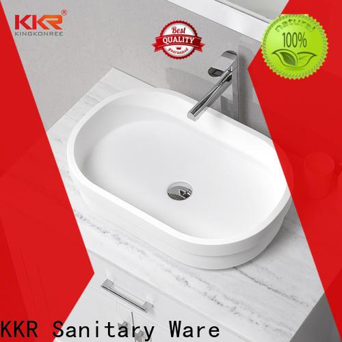 KingKonree above counter vanity basin cheap sample for room