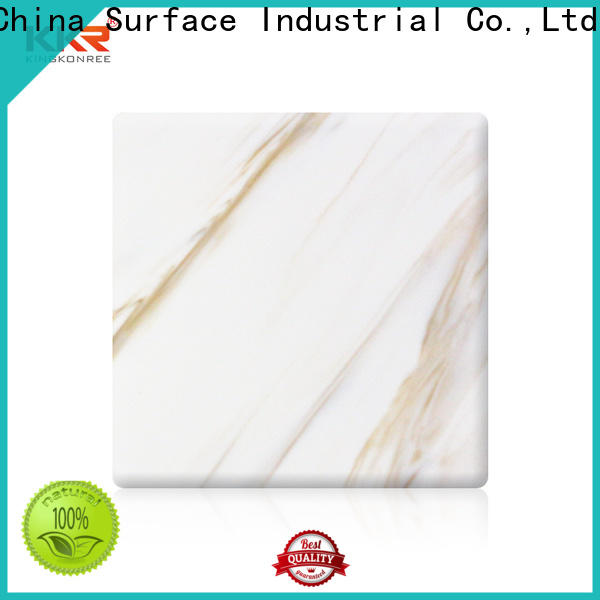 KingKonree marble solid surface sheets for sale supplier for home