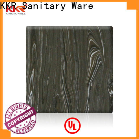KingKonree solid surface sheets for sale series for indoors