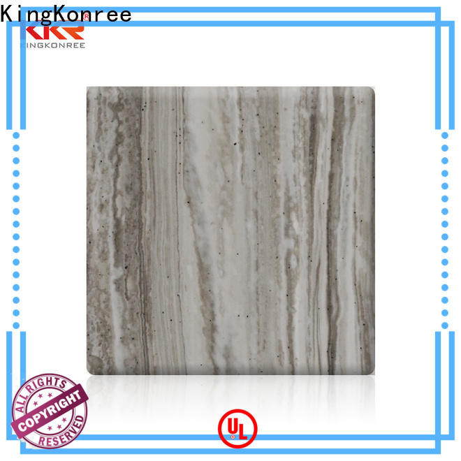 KingKonree acrylic solid surface sheet directly sale for home