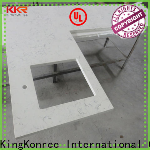 KingKonree approved solid surface worktops factory price for kitchen