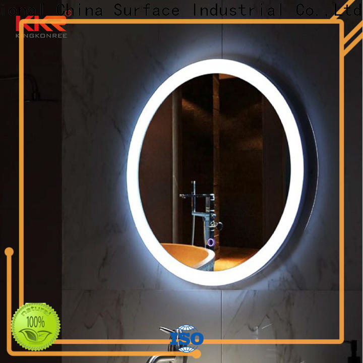 fancy washroom mirrors supplier for home